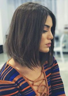 Classical LOB Haircut Top Quality Natural Straight Medium Synthetic Hair Capless Wigs 16 Inches - New Site Medium Length Hair Straight, Medium Hair Cuts, Medium Hair Styles, Short Hair Cuts, Curly Hair Styles, Haircut Medium, Medium Straight Haircut, Straight Hair Bob, Lob Haircut Thick Hair