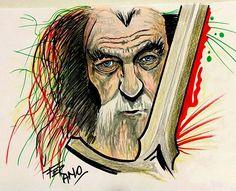 #Gandalf #Made in Fer Amo