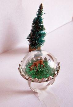 14-snow-globes also make mini bottle snowglobe charms with mini bottles: http://www.ecrafty.com/c-517-mini-glass-bottles.aspx #ecrafty
