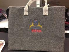Borsa in Lana Cotta personalizzata #ricamo #lana cotta #made in Italy