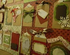 Nesting Sticks: Envelope Advent Calendar  foam board, kraft envelopes 5/24 at michaels