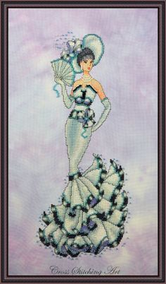 Audrey, My Fair Lady cross stitch pattern by Cross Stitching Art.
