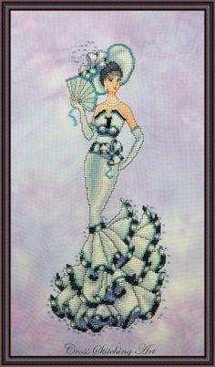 Audrey, My Fair Lady cross stitch pattern by Cross Stitching Art.