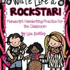 Write Like a Rockstar is a manuscript handwriting program that puts a fun twist on teaching handwriting. Your students are sure to love putting a m...