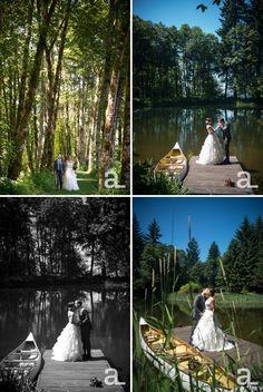 Columbia River Gorge Wedding Photography – Katie + Matt at Bridal Veil Lakes | Alyson Levy Photography