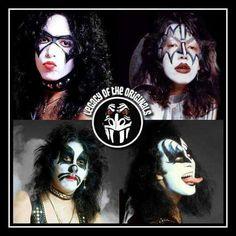 Great Bands, Cool Bands, Kiss World, Kiss Concert, Kiss Members, Kiss Rock Bands, Beatles Guitar, Kiss Images, Vintage Kiss