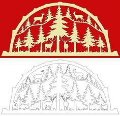 Schwibbogen-Vorlage: Wildrudel im Forst de.picclick.com