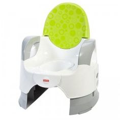 The Custom Comfort Potty is a simple, clean-lined, no-frills potty for helping kids and parents during the potty-training stage.