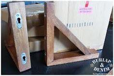 Wooden shelf standards