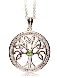Tree Of Life Sterling Silver Pendant | Blarney Woollen Mills - have engagement ring refashioned