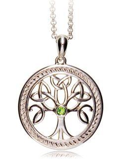 Tree Of Life Sterling Silver Pendant | Blarney Woollen Mills
