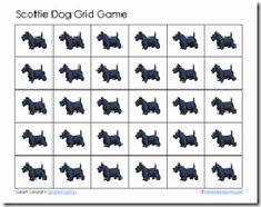 Angus Lost scottie dog grid game