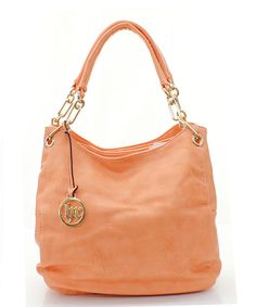 Danika Hobo in Soft Apricot