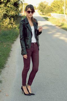 Y. A. Q. - Blog de moda, inspiración y tendencias: [Y ahora qué me pongo con] Pantalones burdeo