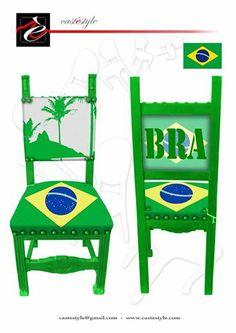 sedia Mondiale Castestyle Brazil