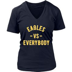 EAGLES VS Everybody (Coppin inspired - yellow)