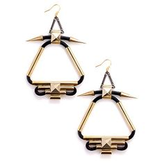 Yo, your door would be KNOCKIN' with these earrings, right?
