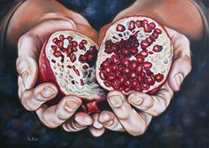 Oil paintings : The fruit of Jesus' Sacrifice