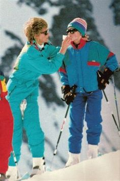 Rare photo...I've not seen this one before. Diana attending to William.