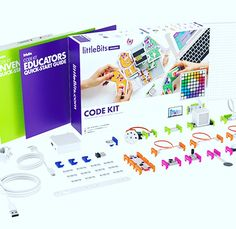 #littleBits #Code #Kit combines electronic building blocks with approachable drag-and-drop Blockly #programming, providing a foundation of #coding as a #creative tool that can power real-world #inventions. #encoredataproducts #edtech #edutech #elearning #AssitiveTech #EdTechChat #TLChat #21StEdChat #EdTools #iPadEd #1to1 #headphones #STEM #STEAM CALL TODAY!😀🔊💻🍏