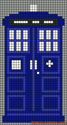 Doctor Who pattern (cross stitch,knitting, etc)