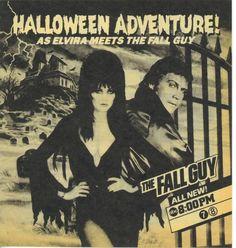 Elvira Meets The Fall Guy
