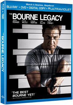 "Win a free Blu-ray and DVD combo pack to the highly anticipated home entertainment release of ""The Bourne Legacy"" starring Jeremy Renner, Rachel Weisz and Edward Norton courtesy of HollywoodChicago.com! Win here: http://ptab.it/kFwk"