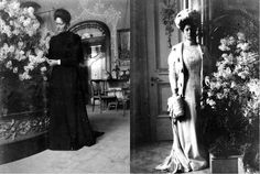 Empress Alexandra Feodorovna (nee Princess Alix of Hesse and by Rhine) was born on June 6th, 1872. She had a great love of flowers particularly lilacs which often filled the rooms of the Alexander Palace at Tsarskoye Selo. Alexandra loved all shades of the colour mauve, thus Mauve Boudoir (or Lilac Study) became her favourite room in the palace. Each spring & on the her BD vases full of lilacs & lily-of-the-valley would fill this room. Other rooms would be decorated with flowers year round.
