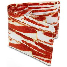 Dear Bacon wallet manufacturer, make one look like a piece of pizza and we have a deal...