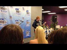 "Ed Sheeran sings ""Baby One More Time"" by Britney Spears"