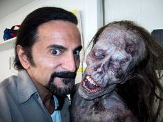 Tom Savini...my all time fave Special FX Makeup Artist, hands down!!