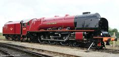 46229 Duchess of Hamilton Rail Transport, Steam Railway, Train Times, Old Trains, British Rail, Train Pictures, Train Engines, Steam Engine, Steam Locomotive