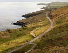 Shetland. The A970. Shetland, also called the Shetland Islands, is a subarctic archipelago of Scotland that lies north-east of mainland Britain. The islands' motto, which appears on the Council's coat of arms, is Með lögum skal land byggja.