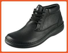 Footprints By Birkenstock Perth Leather Boots (36EU Regular/ 5-5.5US Women, Schwarz/ Black) - Boots for women (*Amazon Partner-Link)