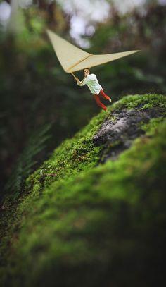Miniature World Photo Manipulations by 14 Year Old Photographer Fiddle Oak fiddleoak 19 Self Portrait Photography, Surrealism Photography, Conceptual Photography, Creative Photography, Art Photography, Experimental Photography, Exposure Photography, Photography Editing, Photography Tutorials