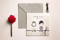 Cuplu model. Ea e modelul tău când vine vorba de frumusețe și delicatețe, iar tu ești modelul ei când vine vorba de bărbăție și încredere. Împreună sunteți un cuplu model, demn de o copertă de invitație. #setthedate #design #print #events #weddinginvites #weddingcards #nunta #invitatiinunta #weddinginvitations