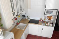 Кухня Икея Фактум Стот в интерьере кухни