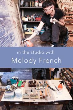 Short film in the studio with South African Durban based artist Melody French who creates gestural abstract artworks on board and canvas. South African Artists, Mixed Media Artwork, Short Film, Artworks, Abstract Art, French, Studio, Canvas, Board