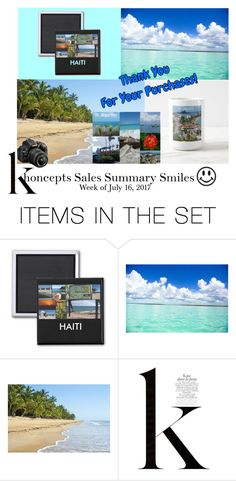 """Khoncepts Sales Summary Smiles - week of July 16, 2017"" by khoncepts ❤ liked on Polyvore featuring art"