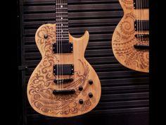 Luna Guitars Tattoo Series