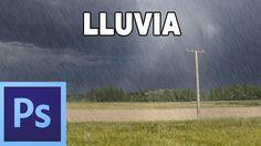 Como hacer efecto de lluvia - Tutorial Photoshop en Español por @prismat...