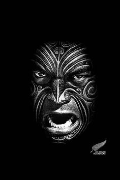New Zealand Rugby - All Blacks! Best Rugby Team in The World All Blacks Rugby Team, Nz All Blacks, Maori All Blacks, Maori Face Tattoo, Maori Tattoos, Rugby Tattoos, Tomie Ohtake, Zealand Tattoo, Maori People