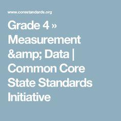 Grade 4 » Measurement & Data   | Common Core State Standards Initiative