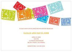 Jewelry Invitation Templates Printable | Greer Loves Cinco de Mayo Wedding Stationery Paper Goods
