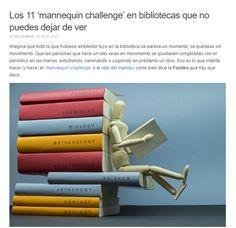 Los 11 mannequin challenge en bibliotecas que no puedes dejar de ver / @JulianMarquina | #librarians #libraries