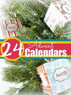 Mums make lists ...: Advent Calendars