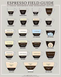 espresso-coffee-drink-ratios-infographic.jpg (908×1135)