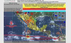 Prevé SMN chubascos con tormentas fuertes y temperaturas de hasta 40°C en Chihuahua | El Puntero