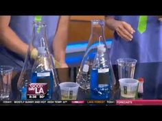 Professor Egghead Science Academy is back with some explosive science experiments. With all the traveling going on this holiday season, and all the gas being used, we wanted to see what cool things we could do with the ethanol that is in your gas!