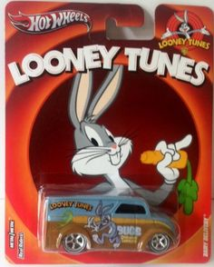 HOT WHEELS 1:64 SCALE LOONEY TUNES DAIRY DELIVERY - REAL RIDERS BUGS BUNNY @ niftywarehouse.com
